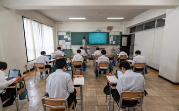 午後の授業画像