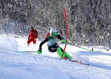 スキー部の様子