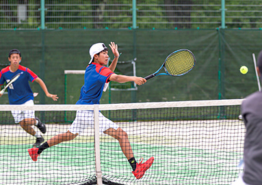 テニス部の様子