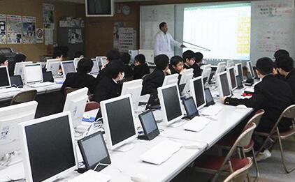 コンピューター室の写真